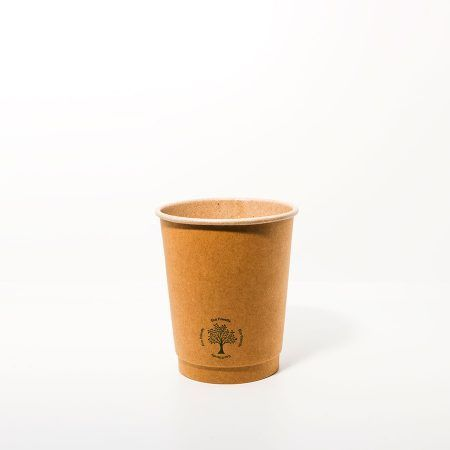 Partyware 8oz (250ml) Double Wall Craft Paper Coffee Cup