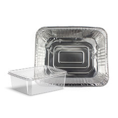 Takeaway Containers and Foil Trays